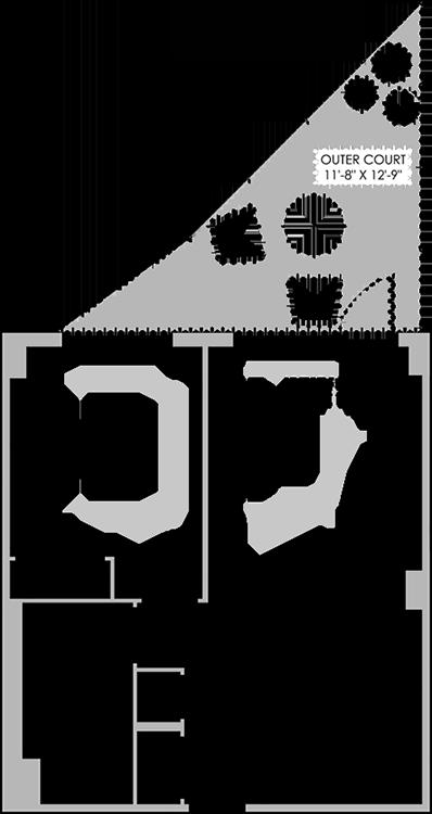 Floorplan 1F The Benny