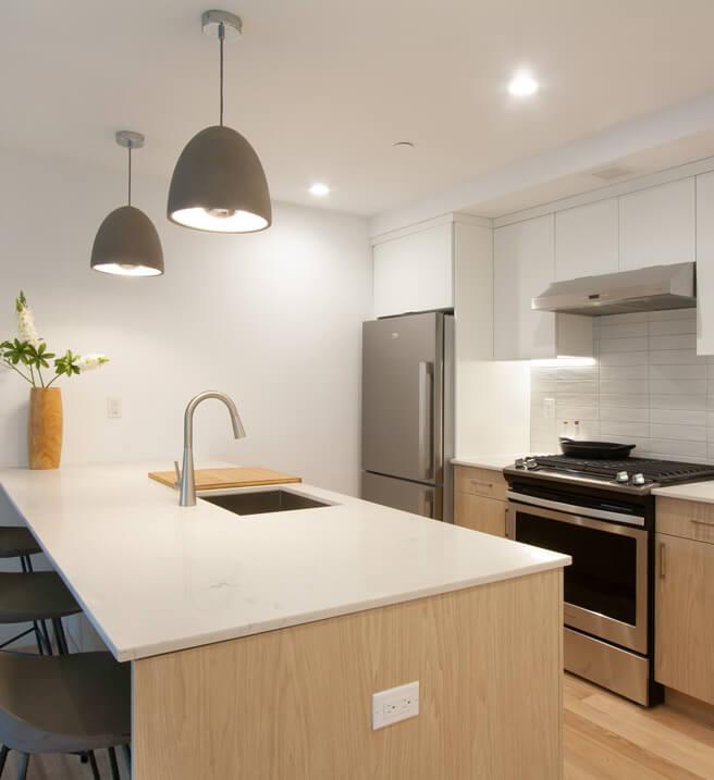 The Benny residences kitchen
